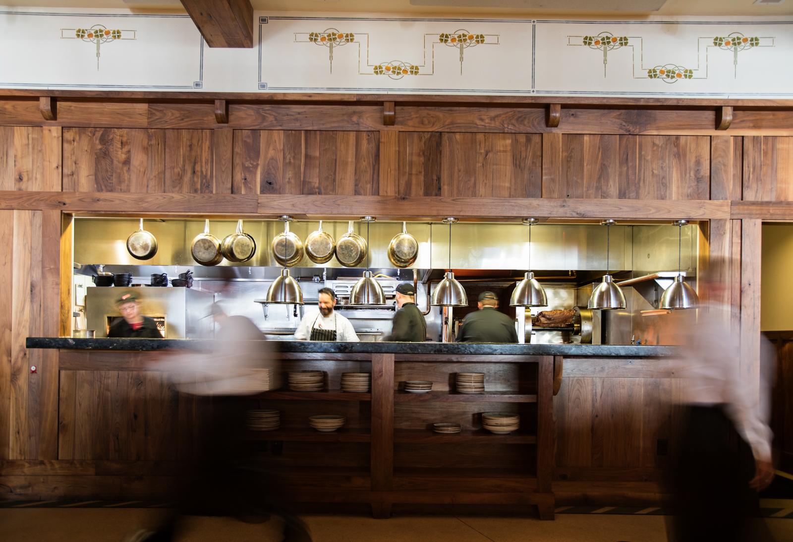Exhibition Kitchen Grill