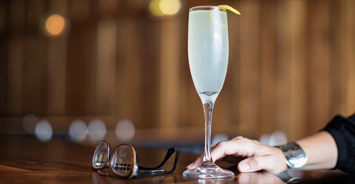 French 75 Classic Cocktail